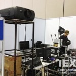 Visual, Sound, Language Distribution System for International Conference