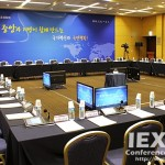 BOSCH DCN Multimedia System and HD Conference Dome for Delegate Tracking