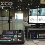 Dual 200 inch screen multi sourse control