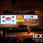 39th HIMUN - Edge Blending Projection, Language Distribution with 7 Languages, 800 Participants