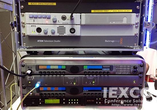 RTS ZeusIII Matrix Intercom & 2 Wire Intercom