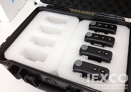 TELEX BP Beltpack Storage